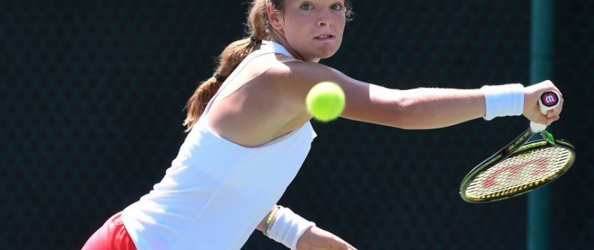 McNally travels from Wimbeldon to Evansville to compete in The Women's Hospital Classic