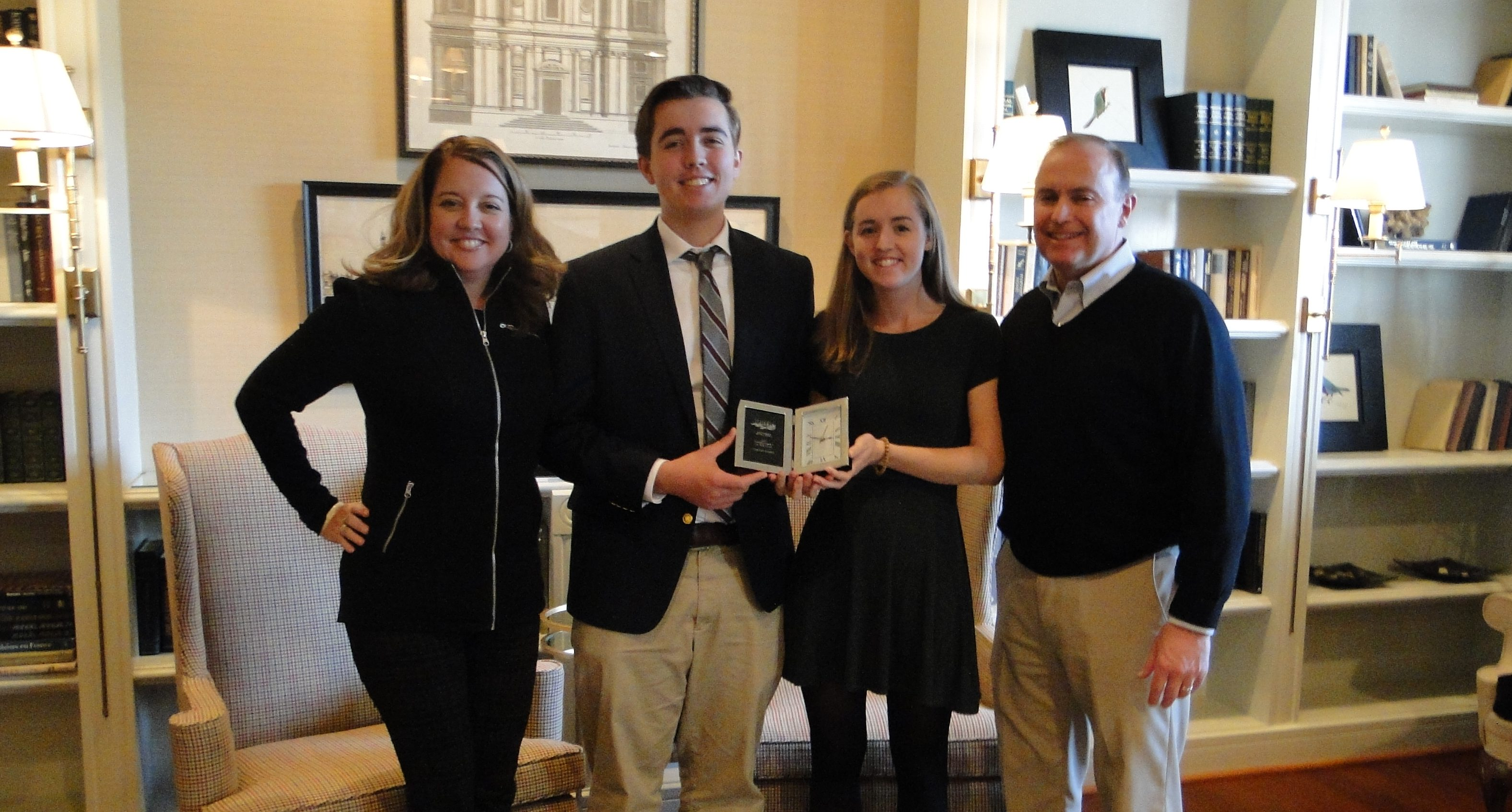 Vincents Win Family of the Year Award